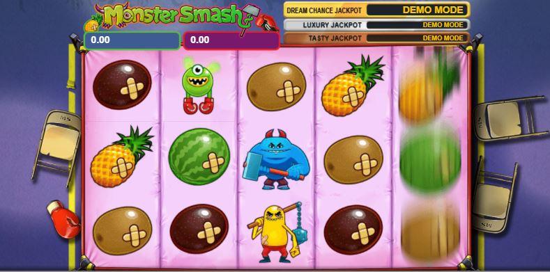 monster smash slot