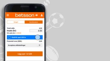 betsson casino betting