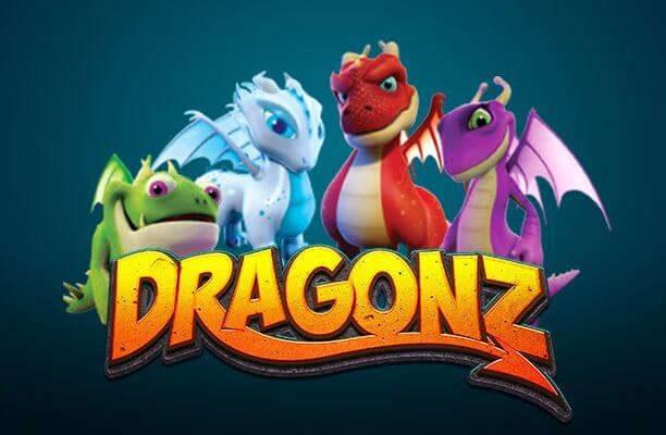 Banner av dragonz från microgaming