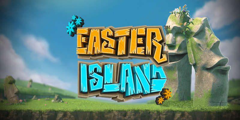 easter island banner
