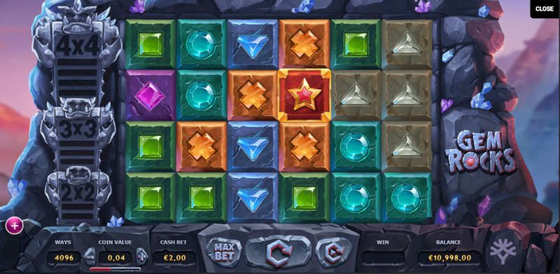Gem rocks gameplay