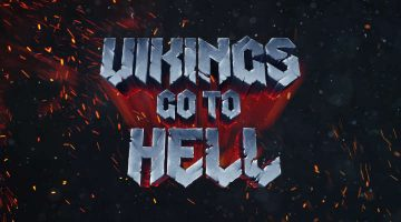 vikings go to hell banner