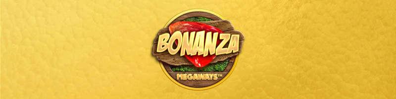 Banner för bonanza med gul bakgrund