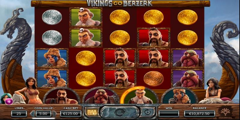 spelplan med vikingar, video slot