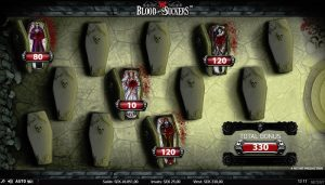 Spela häftiga bonusspel i Blood Suckers