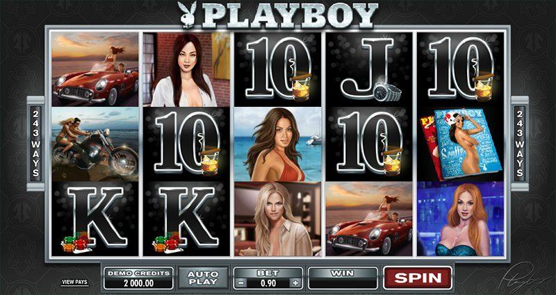 spin med Playboy tjejerna