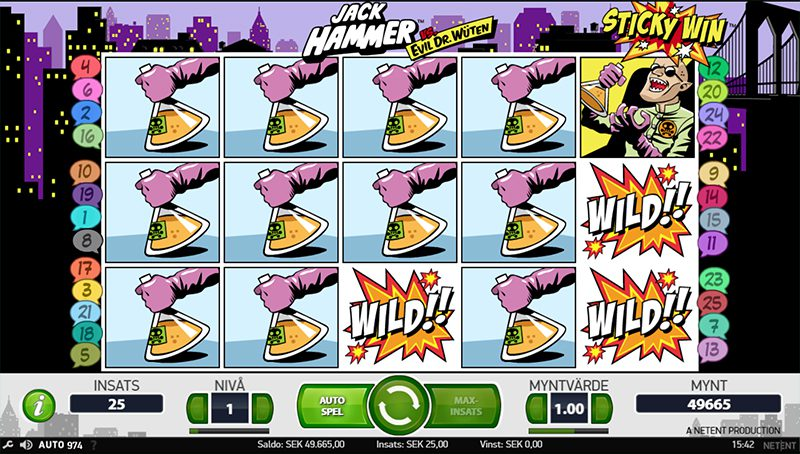 Läs om Sticky win re-spin hos www.spelacasino.com