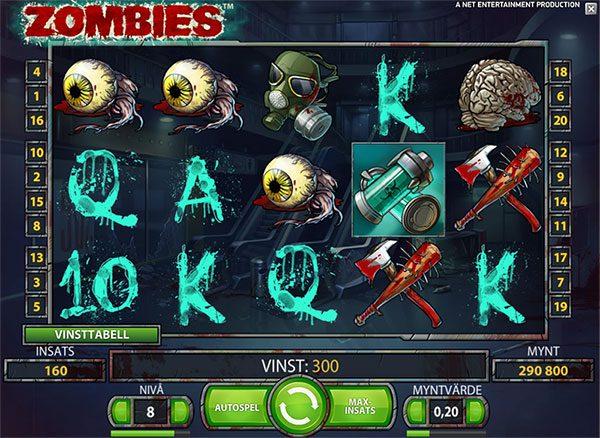 halloween spelet zombies