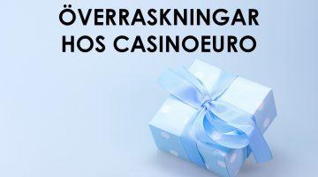 Erbjudande hos CasinoEuro – få överraskningar varje helg
