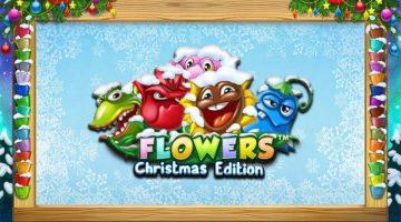 Juliga slotspel med blommor