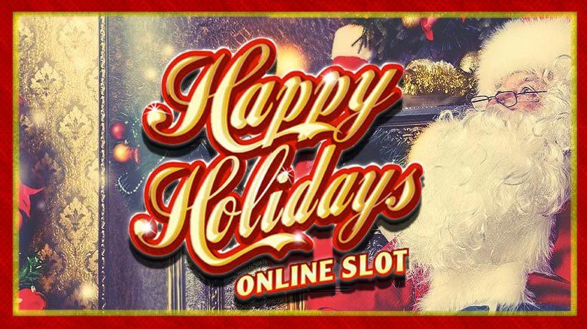 Spela Happy Holidays och se vad för vinster som finns tillgängliga