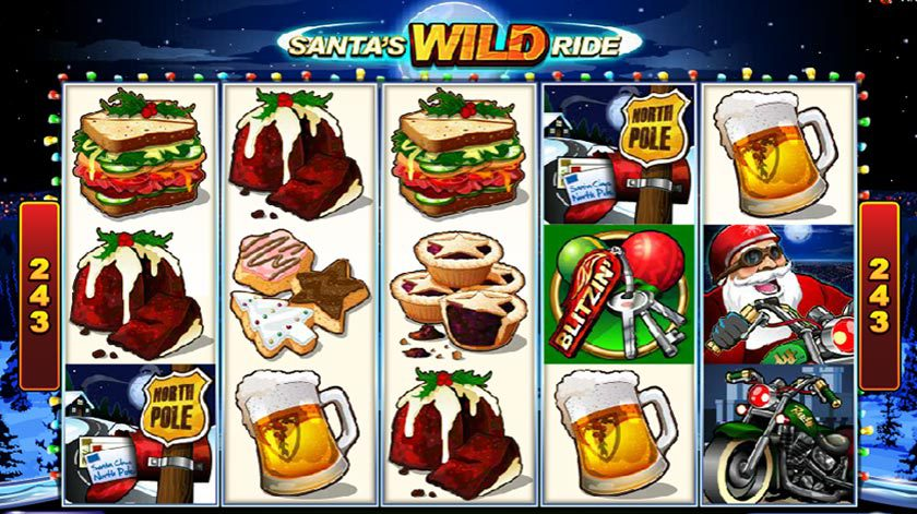 Slotspel med jultema, BLT mackor och uppfriskande öl!