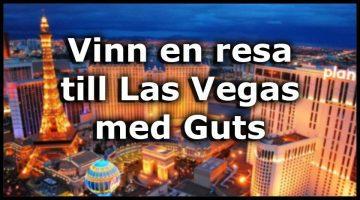 Fantastisk kampanj hos Guts – Las Vegas resa + 100 000 kr i potten