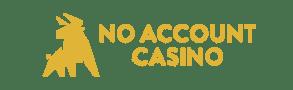 logga för no account casino