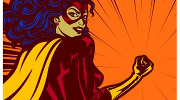 bild på superwoman